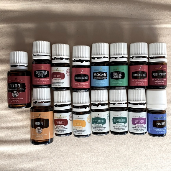 Young Living Essential Oils - Various Bundle